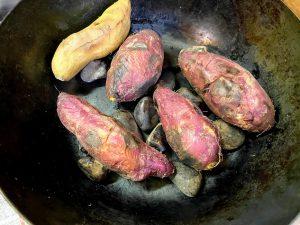 フライパン石焼き芋